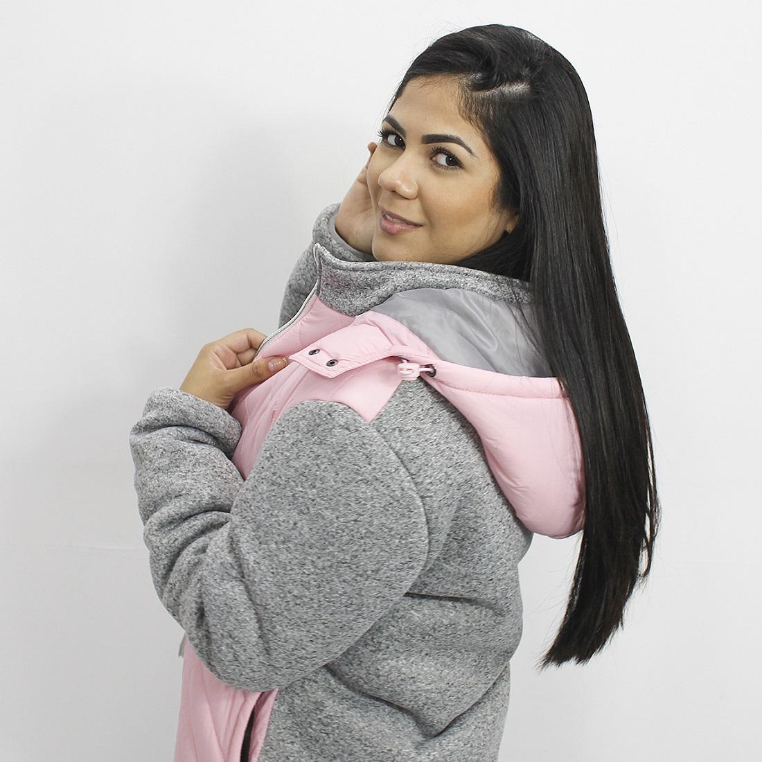 Jaqueta Feminina em Moletom