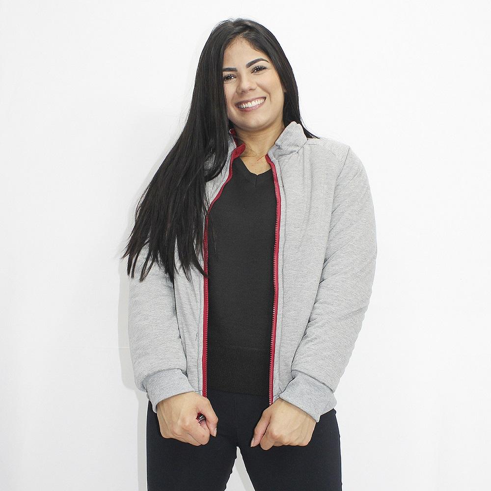 Jaqueta DUPLA FACE  Feminina em Nylon