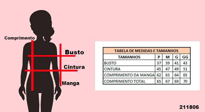 Jaqueta Feminina em Sarja