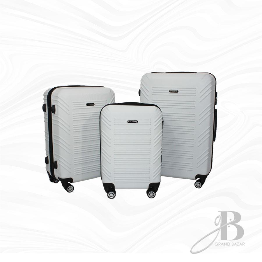 """Kit de 3 Malas Grand Bag 216004 - P(20""""), M(24"""") e G(28"""")"""