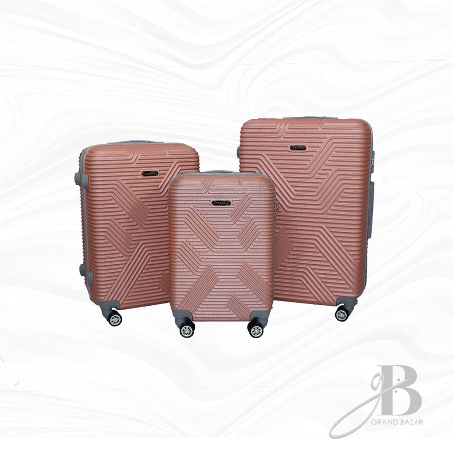 """Kit de 3 Malas Grand Bag 216007 - P(20""""), M(24"""") e G(28"""")"""