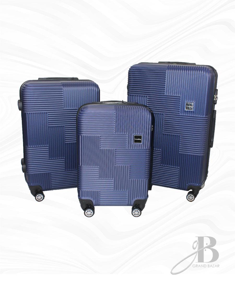 """Kit de 3 Malas Grand Bag 216010 - P(20""""), M(24"""") e G(28"""")"""