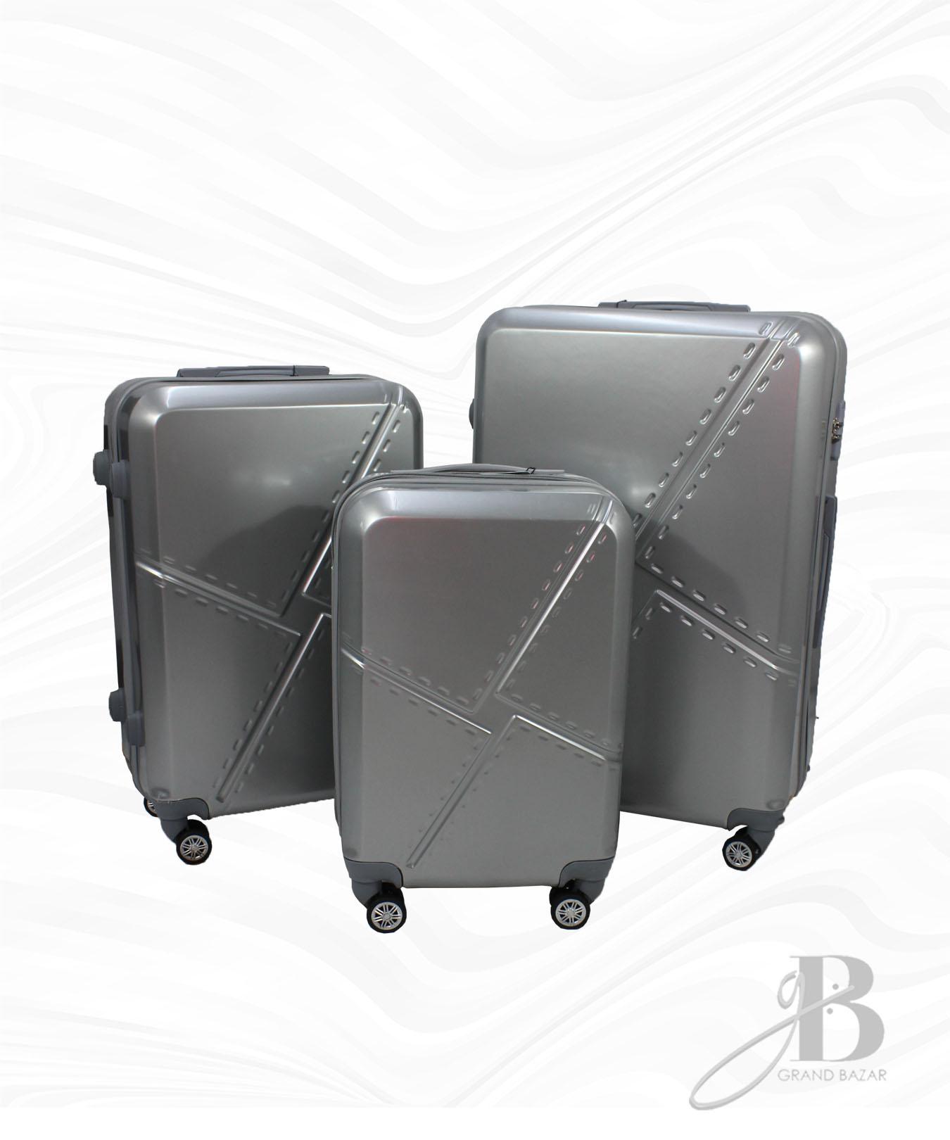 """Kit de 3 Malas Grand Bag 216013 - P(20""""), M(24"""") e G(28"""")"""