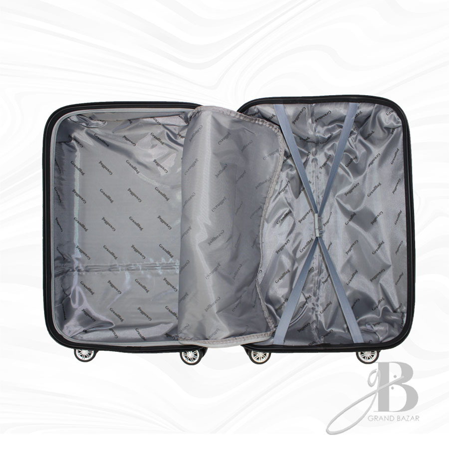"""Kit de 3 Malas Grand Bag 216019 - P(20""""), M(24"""") e G(28"""")"""