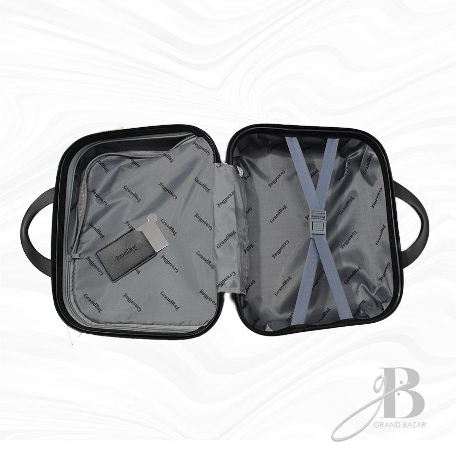"""Kit de 4 Malas Grand Bag 216005 - Necessaire (14""""), P(20""""), M(24"""") e G(28"""")"""