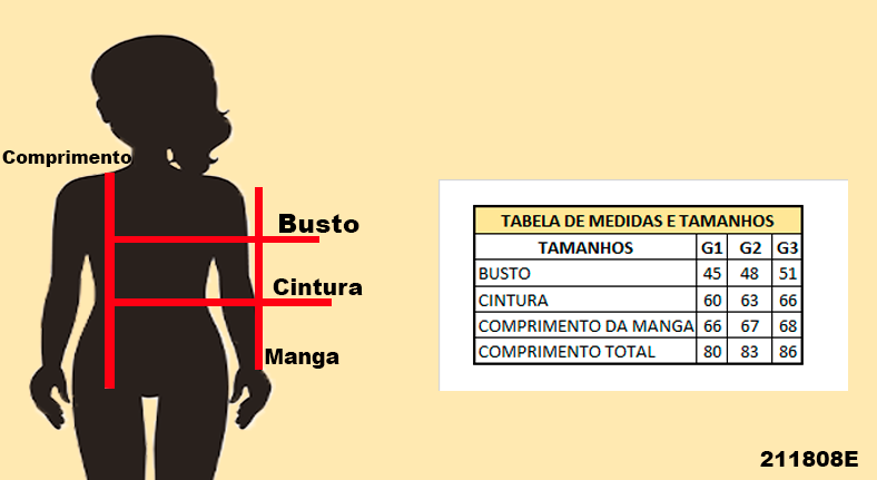 Parka Feminina Plus Size
