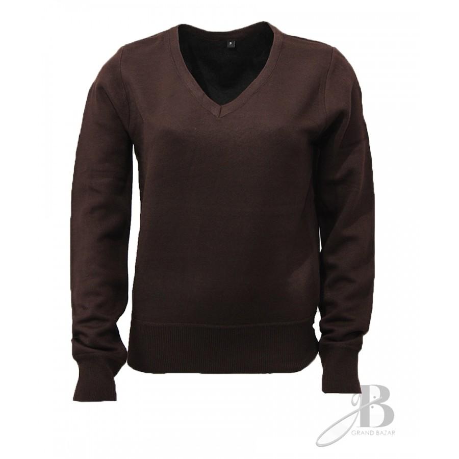 Suéter Feminino Plus em Tricot