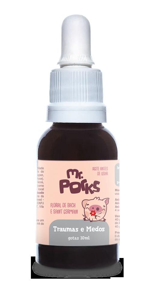 Floral Traumas e Medos - 30 ml - Mr. Porks