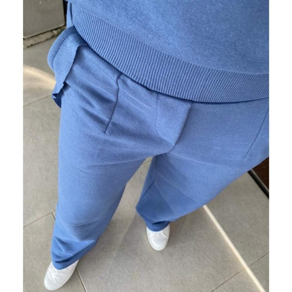 Calça Pantalona Alfa De Moletom
