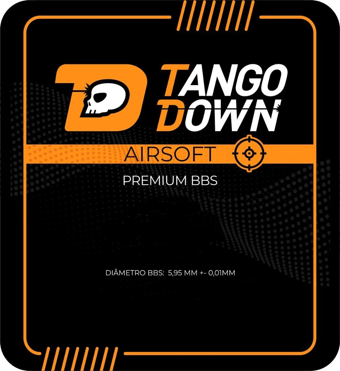 BBS BOLINHAS TANGO DOWN 0,25G 4MIL UN