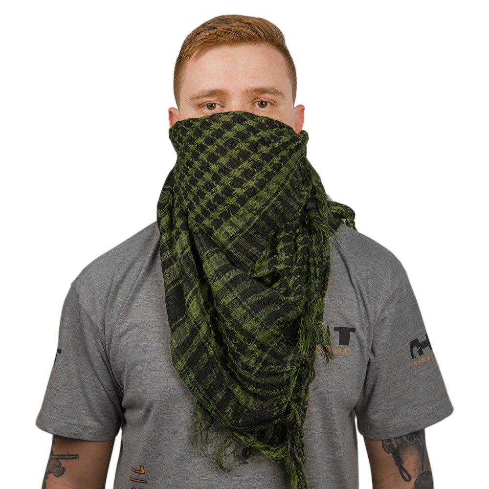 CACHECOL SHEMAGH TATICO AIRSOFT VERDE