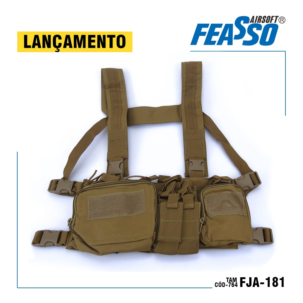CHEST RIG ORION-V1 TAN - FEASSO