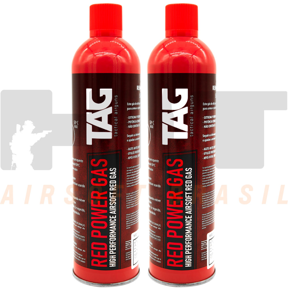 KIT 2 CILINDROS GREEN GAS RED AIRSOFT TAIKOON NTK 270G