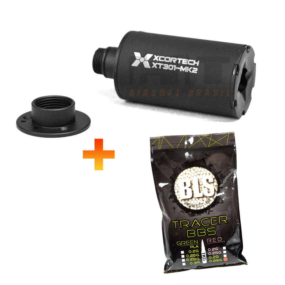 KIT TRACER XCORTECH XT301 + 4MIL BBS TRACER 0,25 BLS VERDE