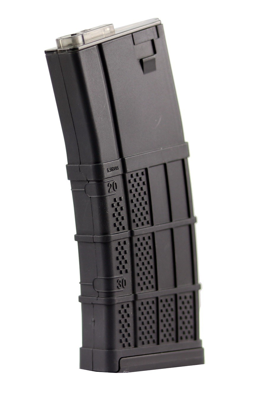 MAGAZINE P/ AIRSOFT AEG M4 MID CAP 120 RDS LANCER ARMADILLO