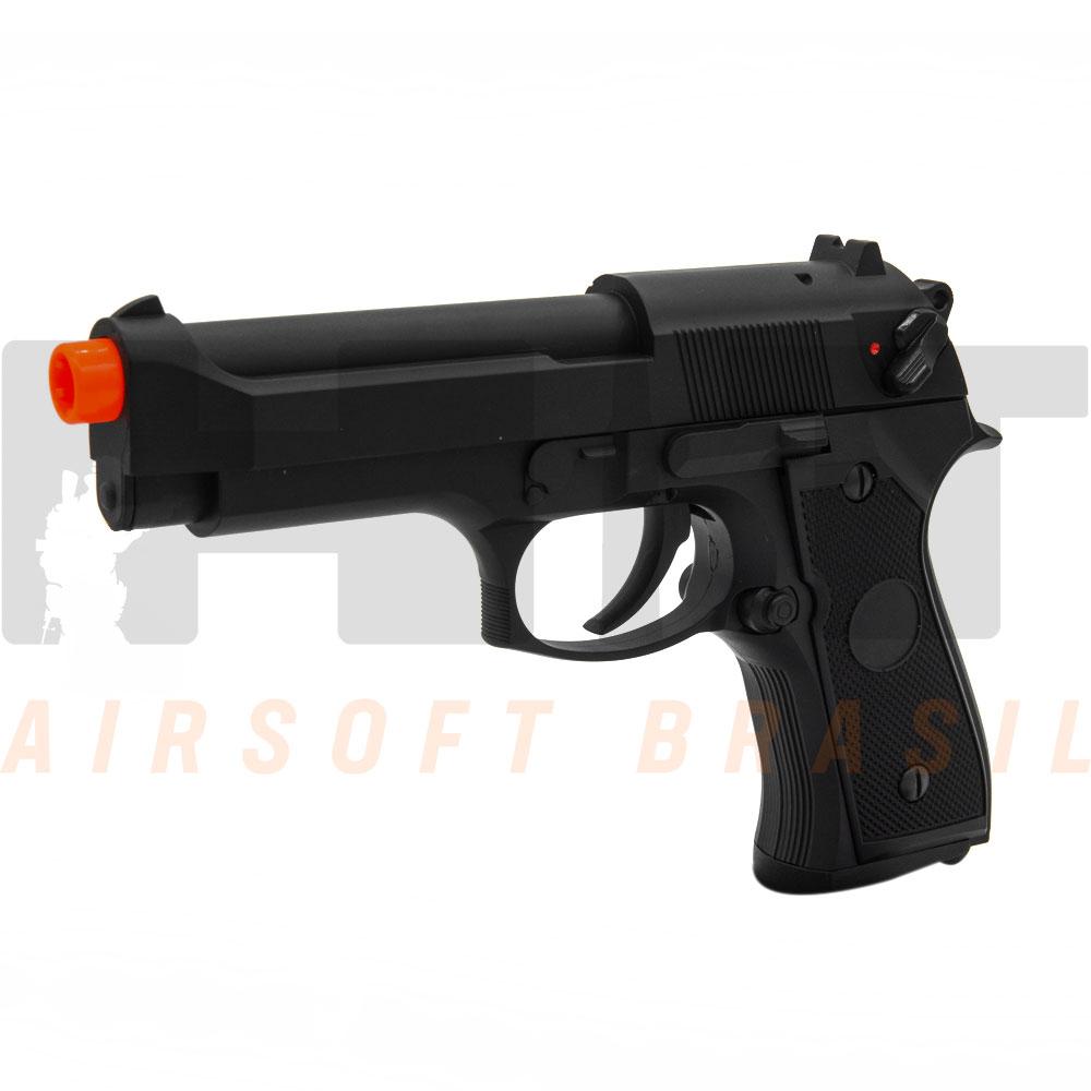 PISTOLA AIRSOFT AEP BERETTA M9 CM126 PRETA CYMA 6MM