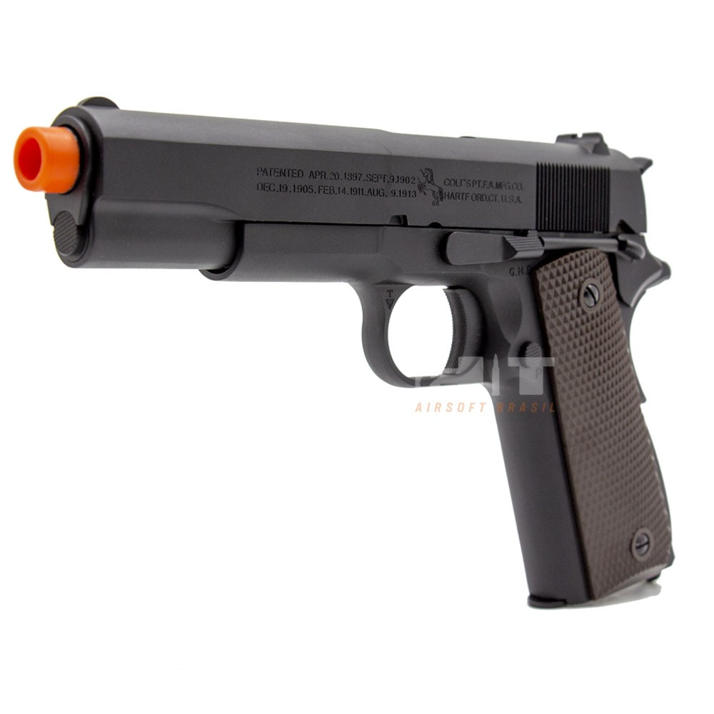 PISTOLA AIRSOFT GAS GBB 1911 - ARMORER WORKS + CYBERGUN