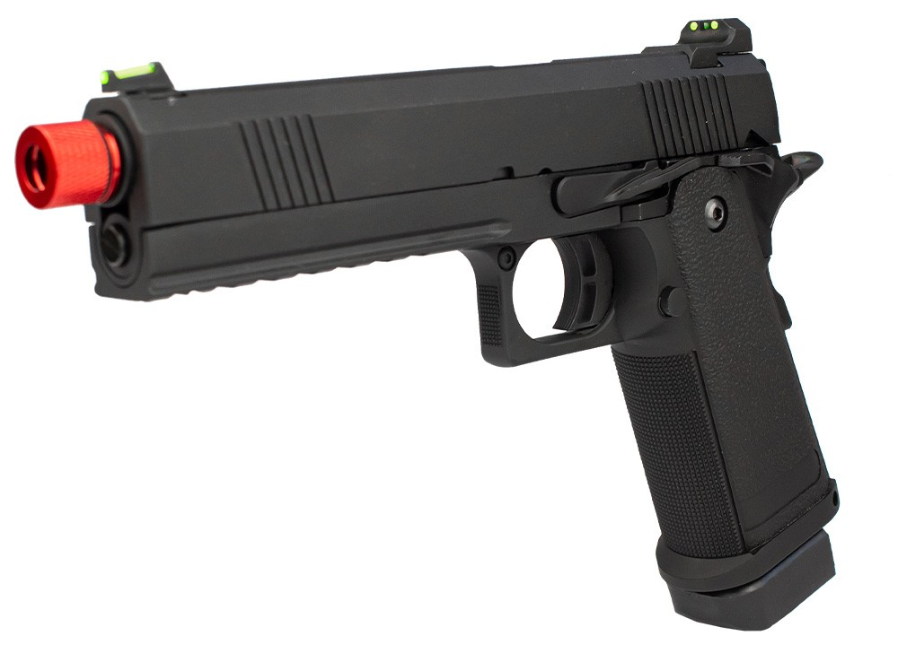 PISTOLA AIRSOFT GAS GBB 1911 BLACK DEVIL 5.1 - ROSSI