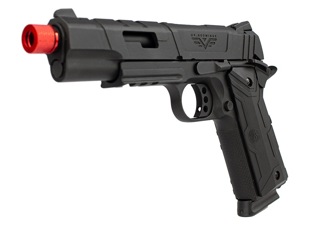 PISTOLA AIRSOFT GAS GBB 1911 - ROSSI