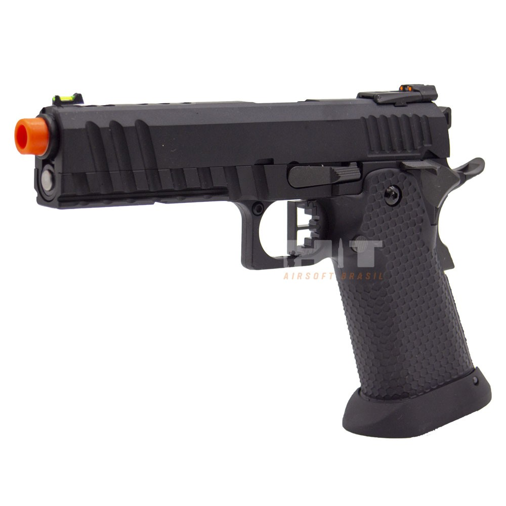 PISTOLA AIRSOFT GAS GBB HI CAPA HX2003 BLACK ACE - ARMORER WORKS