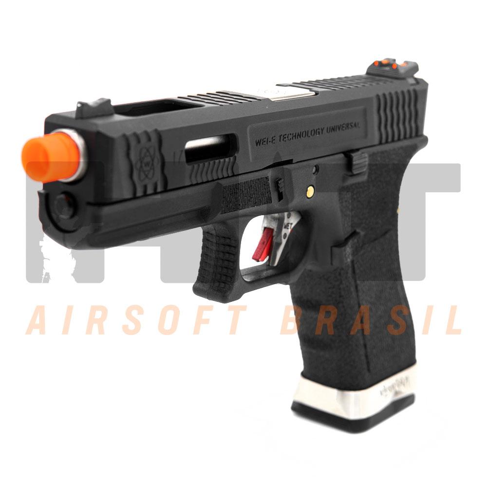 PISTOLA AIRSOFT GBB GLOCK G17 T-FORCE G001WET-5 WE