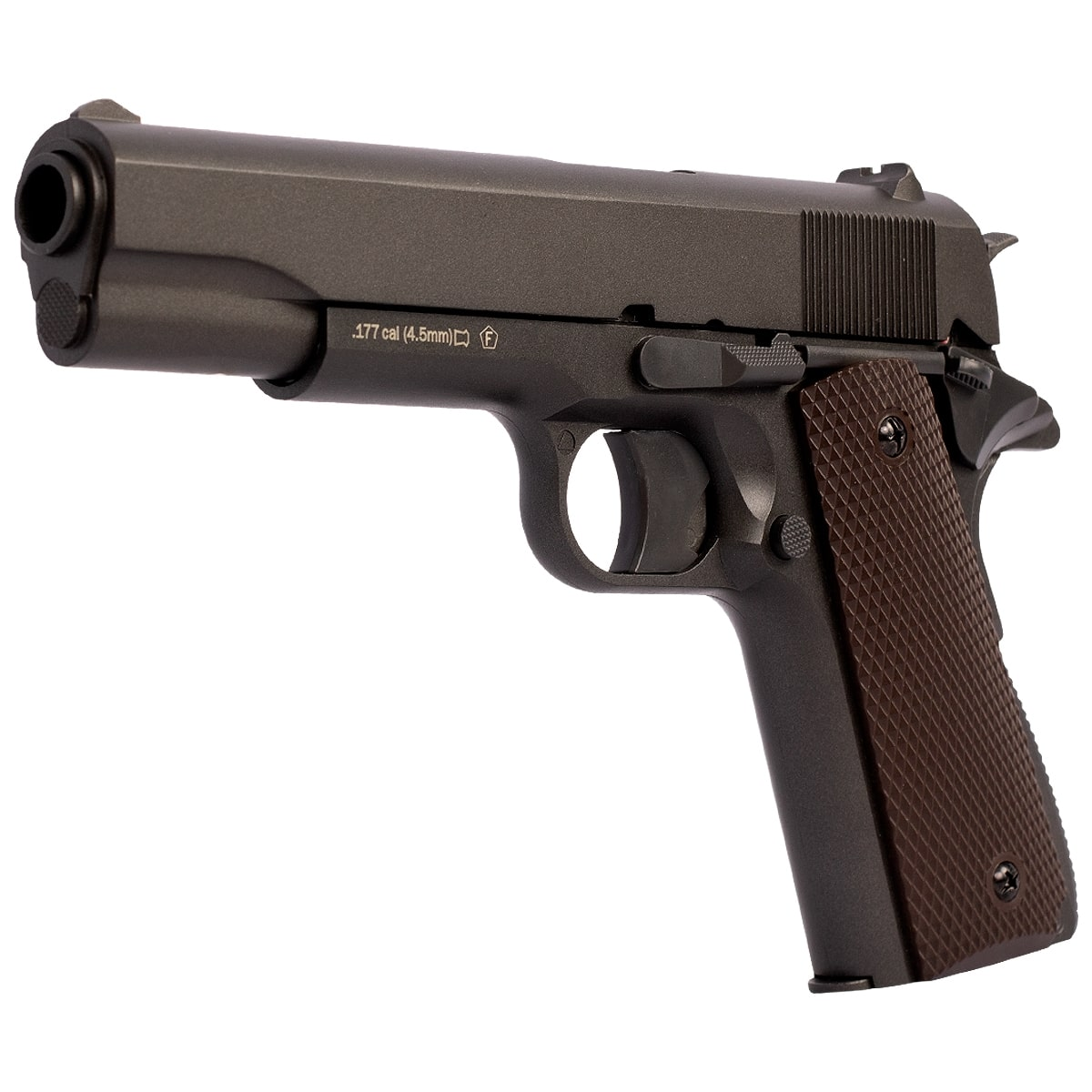 PISTOLA DE CHUMBINHO CO2 M1911 METAL 4.5MM - KWC