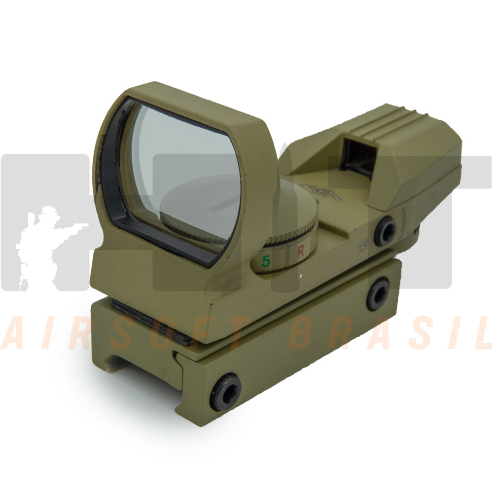 RED DOT AIRSOFT TASCO PANORAMICO 20MM TAN