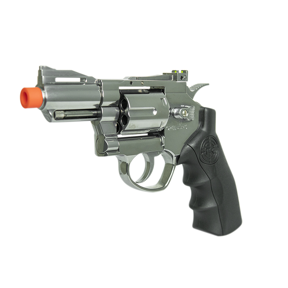 REVOLVER AIRSOFT CO2 2,5'' CROMADO - SRC