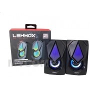 Caixa de Som PC Game 2.0 Lehmox gt-s2