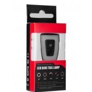 Lanterna traseira luz traseira noturna para bicicleta LED USB recarregável