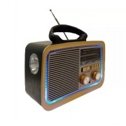 Radio Retro Vintage Am/FM/Bluetoooth-USB