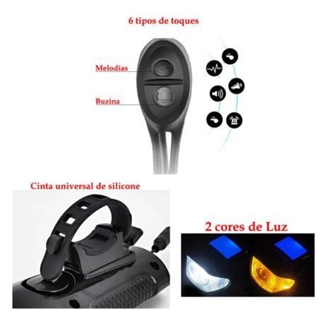 BICYCLE LIGHT XA 585 - Sinalizador Led T6