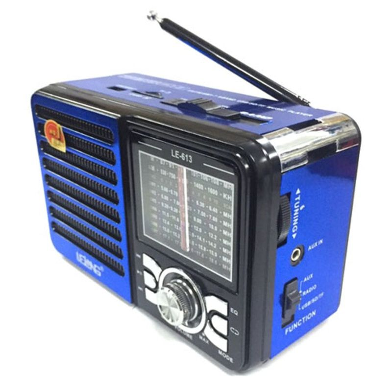 Rádio Le-613 Lelong Portátil