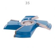35.07 Fresa Para Almofadas 170mm 4z Lado D