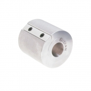 152 Cabeçote Porta Lixa de Alumínio 80x80x30