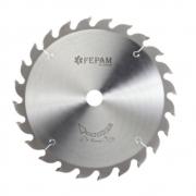 Serra Circular HM para Corte Longitudinal Reforçadas 250mm 24 dentes F.30 3,8/2,5