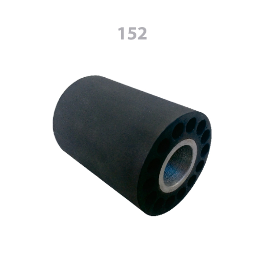 152 Cabeçote Porta Lixa de Borracha 80x80x30