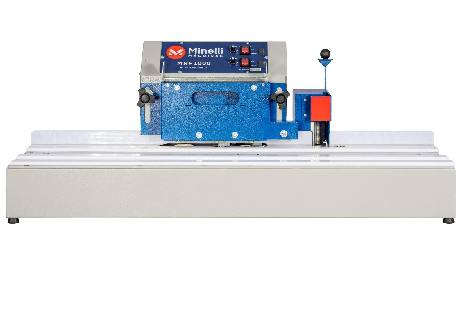 Refiladora de Fita Borda MINELLI MRF-1000 com Polidor
