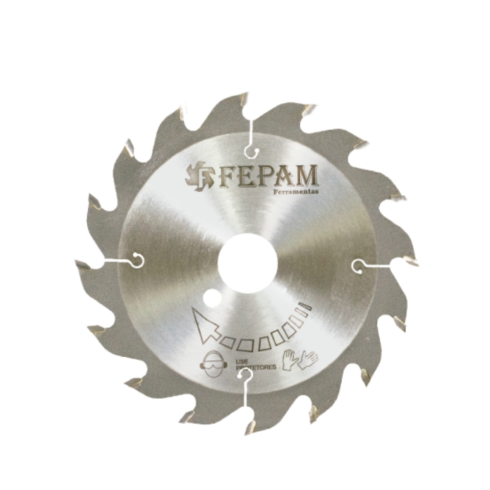 Serra Circular HM para Conjunto de Fresas 165mm 16 dentes F.40
