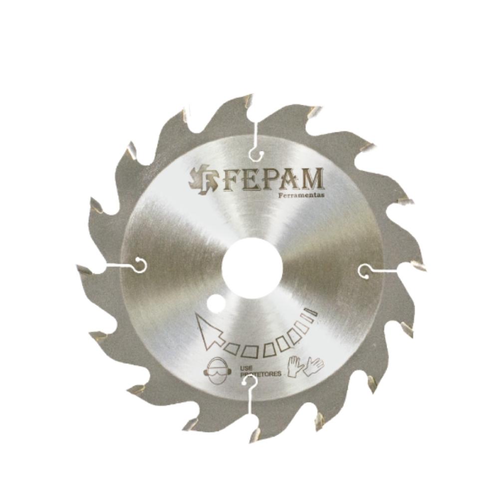 Serra Circular HM para Conjunto de Fresas 205mm 16 dentes F.40