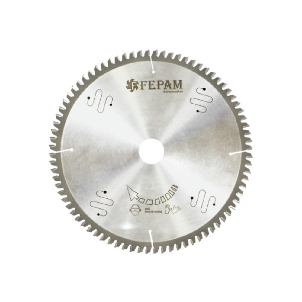 Serra Circular HM para Corte de Alumínio 250mm 80 dentes RT(-) F. 30