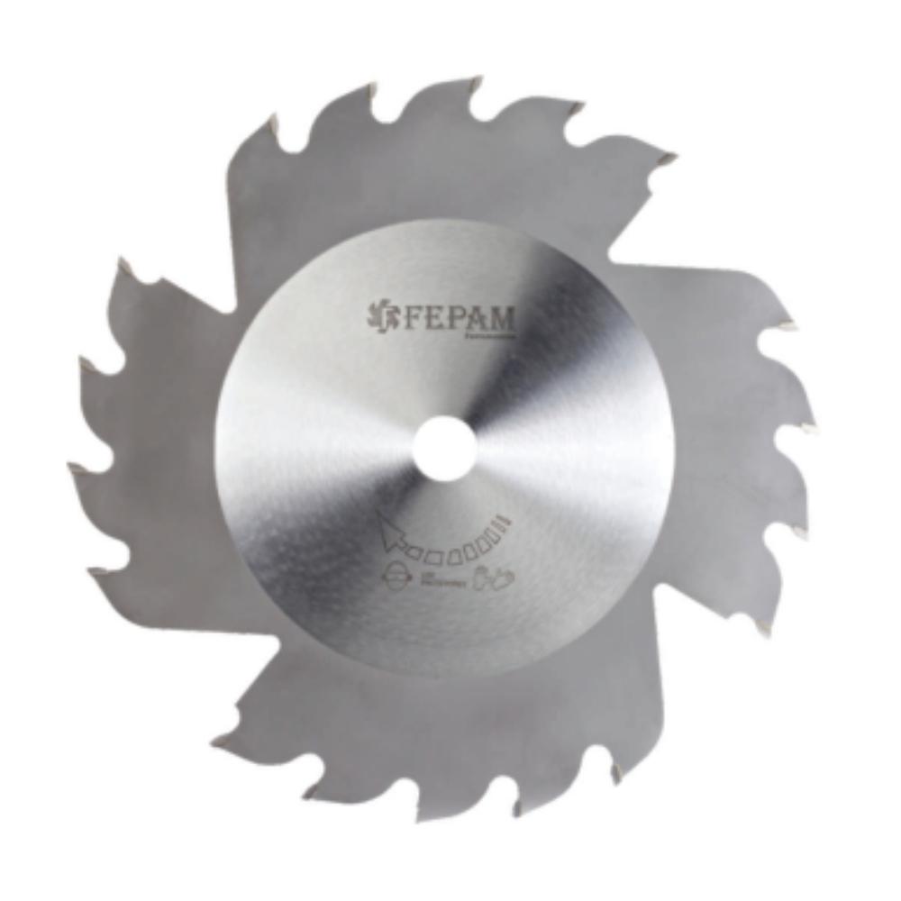 Serra Circular HM Para Corte Longitudinal Ventiladas 250mm 18 dentes ED F.30