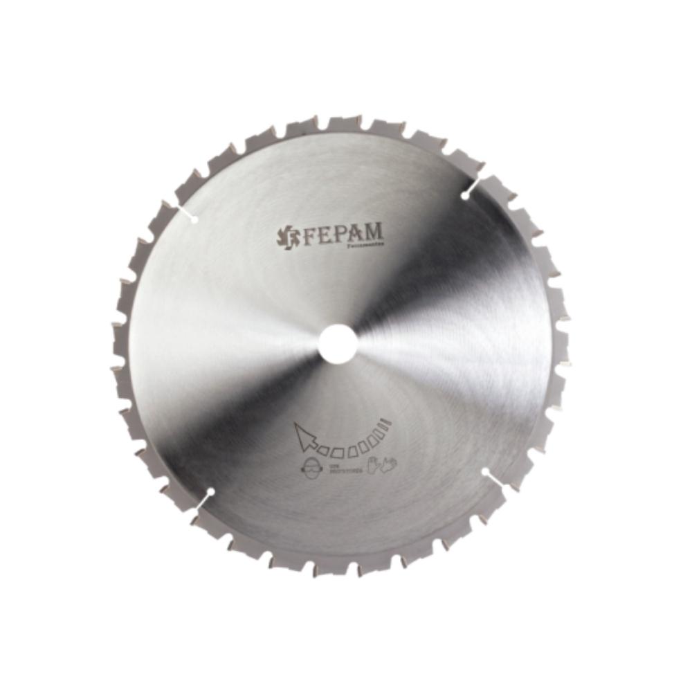 Serra Circular HM para Maquinas Meia-esquadria 255mm 60 dentes ED(-) F. 25,4
