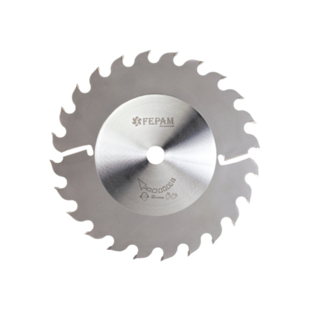 Serra Circular p/ Múltipla com 2 Limpadores 250mm 24 dentes Corte-3,8mm