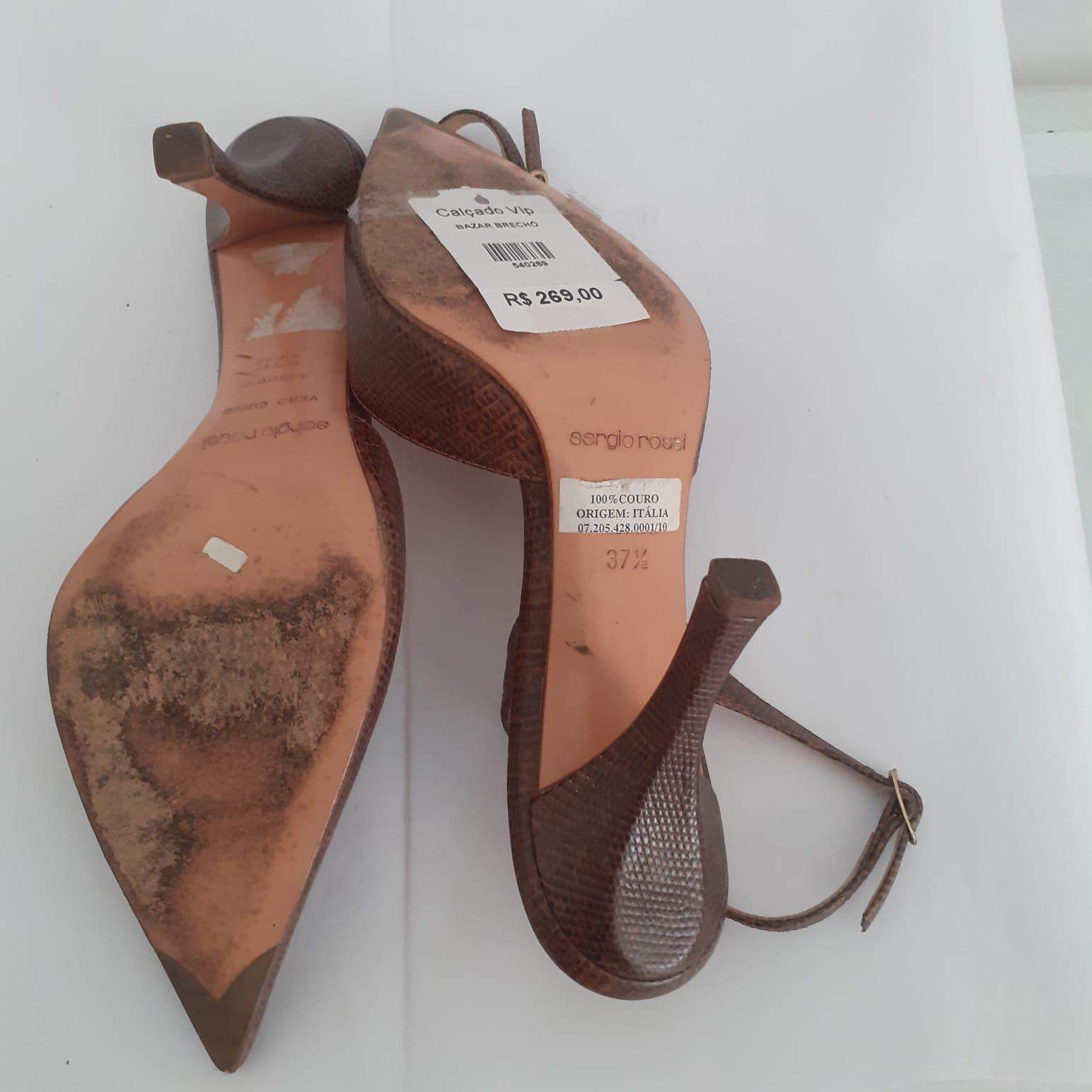 """Sapato """"Sergio Rossi"""""""