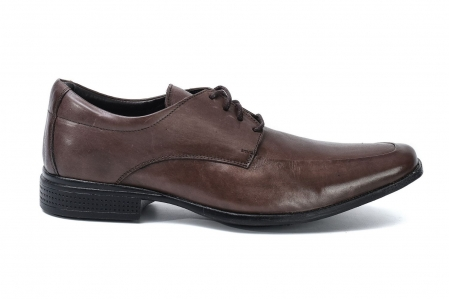 Sapato Social com Cadarço de Couro Masculino Golfer 845 Café