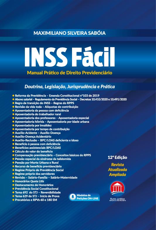 INSS Fácil - Manual Prático de Direito Previdenciário