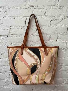 Bolsa Emilio Pucci Leather Shopping