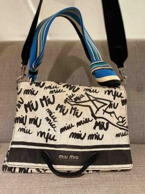 Bolsa Miu Miu Lona