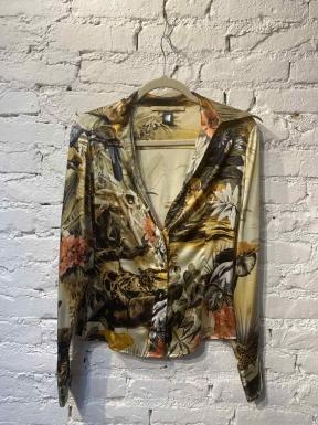 Camisa Roberto Cavalli Estampa